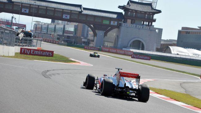韓國站自F1的最新賽程中移除
