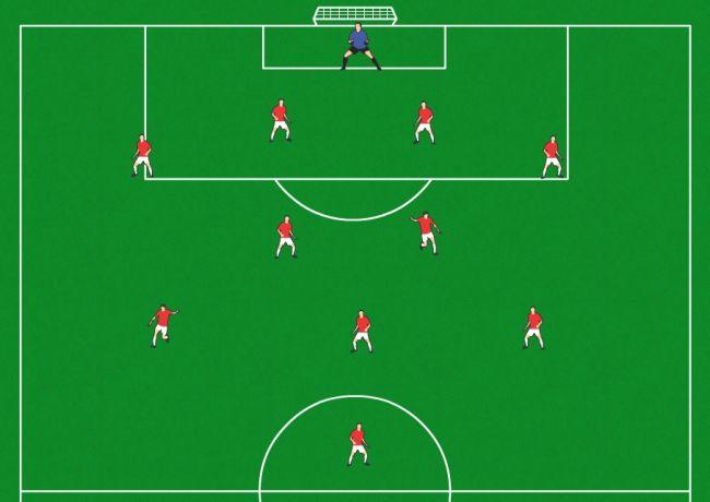 足球451阵型