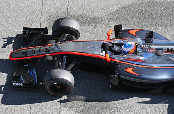 HONDA表示McLaren的引擎問題已解決