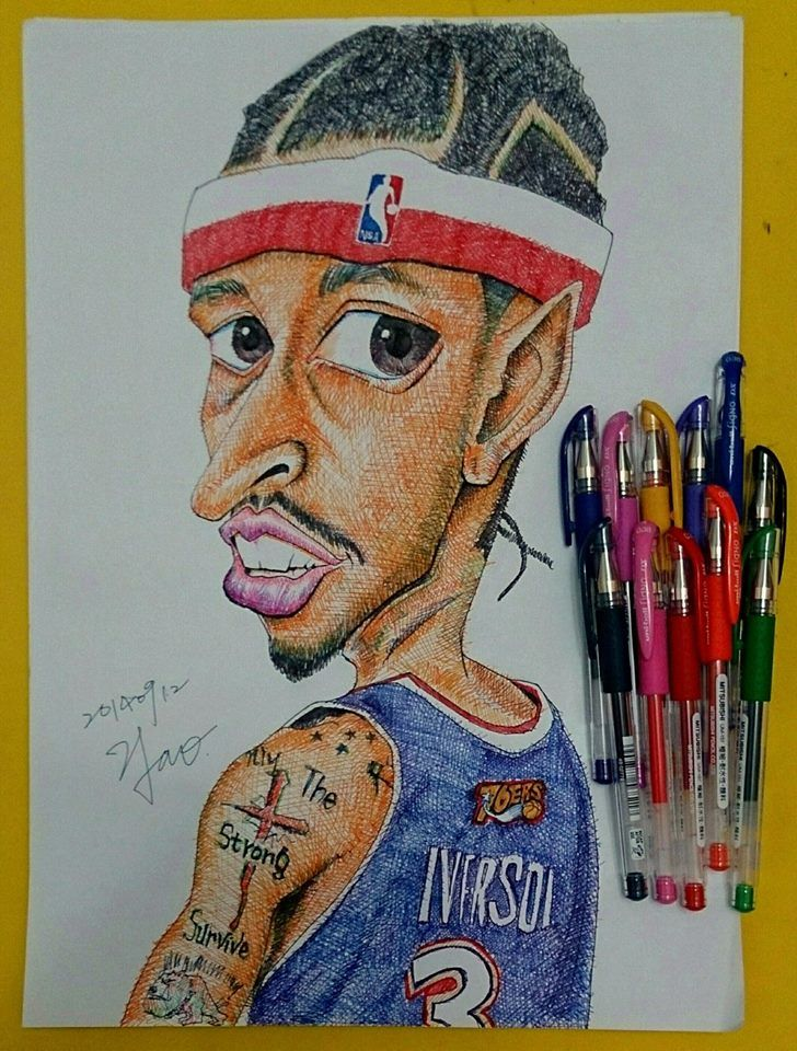 Only The Strong Survive - Allen Iverson (NBA) / 2014.09.12